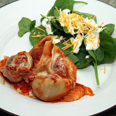 Gluten-Free Meatball Stuffed Shells