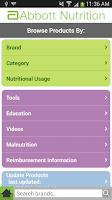 Screenshot of Product Guide