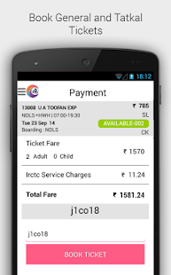 Download IRCTC Connect APK for Laptop