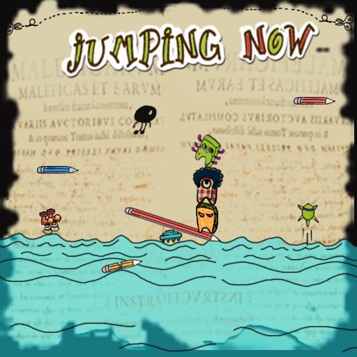 跳躍吧豆子(官方原版) 休閒 LOGO-玩APPs