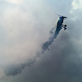 Into the clouds by Popescu Cezar Gabriel - Transportation Airplanes ( airplane, air show, acrobatic,  )