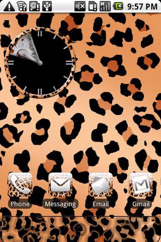 Leopard Print Theme HD