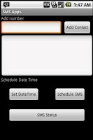 Screenshot of SMS Apps