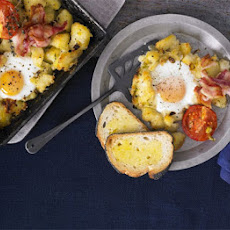 Full English potato cake