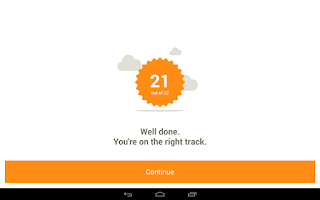 Screenshot of Learn Spanish with Babbel