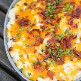 Cheesy Chive & Bacon Mashed Potatoes