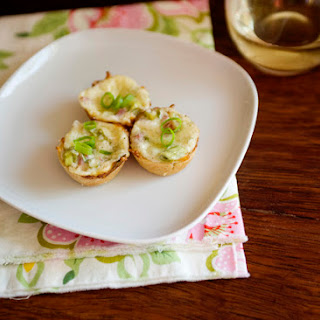 Swiss and Ham Tartlets