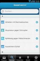 Screenshot of Erkältungs-Tipps
