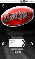 Screenshot of iBiker
