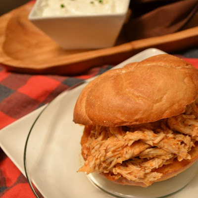 Pulled Buffalo Chicken Sandwich
