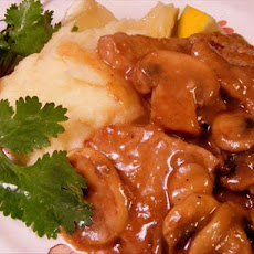 Veal Scaloppine Alla Marsala
