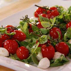 Arugula, Roasted Cherry Tomatoes & Bocconcini Salad