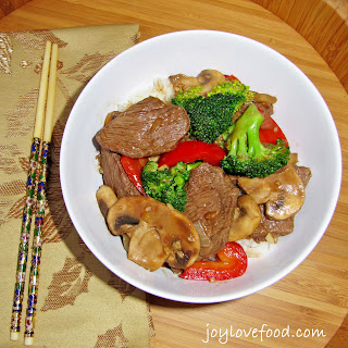 Beef & Broccoli in Black Bean Garlic Sauce