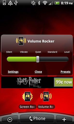 volume-rocker for android screenshot