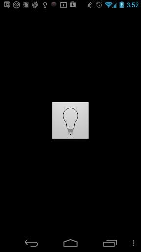 1タップでLEDライト 懐中電灯を点灯 1TapLight