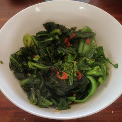 South-east Asian Stir Fried Greens
