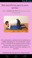 Screenshot of Ejercicios de Embarazadas