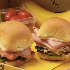 Ham Club Sandwich Sliders