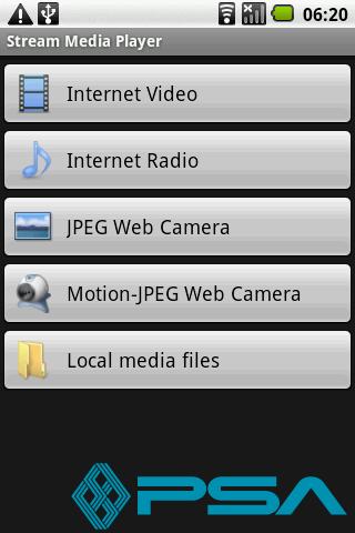 Stream Media Player