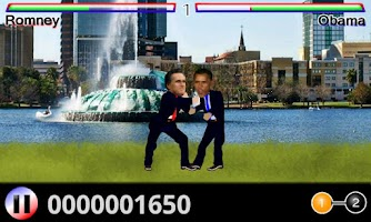 Screenshot of OBAMA & ROMNEY in Civic Inciv.