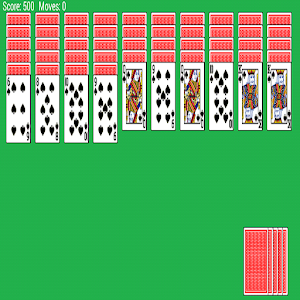 games card solitaire spider