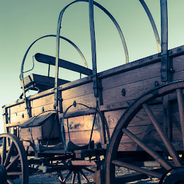Headed West by Kyler Michaelson - Transportation Other ( kyler michaelson, idaho, pioneer, wagon, oregon trail, photography )