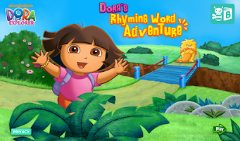 Screenshot of Dora ABCs Vol 2: Rhyming