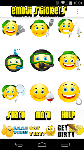 Emoji Stickers by Emoji World - screenshot