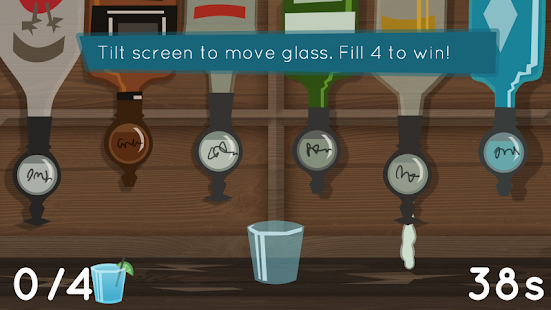 Fill The Glass - Drinking Game - screenshot