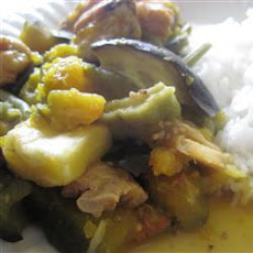 Pork Loin and Vegetables (Pinakbet)