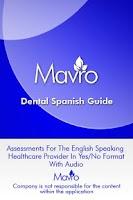 Screenshot of Dental Spanish Guide