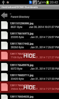 Screenshot of File And Folder Hidder