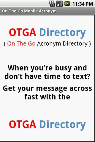 OTGA Directory