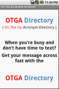 OTGA Directory - screenshot