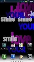 Screenshot of Words of Love Live Wallpaper