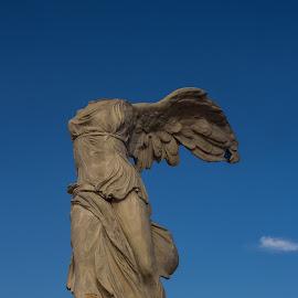 Nike of Samothrake by Claudia Weber-Gebert - Artistic Objects Antiques ( samothrake, statue, figure, wings, artistic, artistic object, object, montpellier, antique, historic, nike, antiques )
