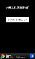 Screenshot of Mobile Speed Up