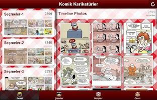 Screenshot of Komik Karikatürler