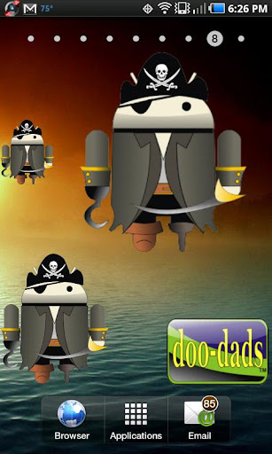 Droid Pirate doo-dad