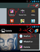 Screenshot of BoxFun for Chats