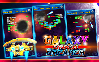 Screenshot of Brick Breaker (Deluxe)