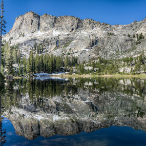 Ten Lakes by Walter Hsiao - Landscapes Waterscapes ( mirror, reflection, national park, yosemite, california, ten lakes, lake )
