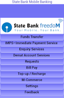 Screenshot of State Bank Freedom