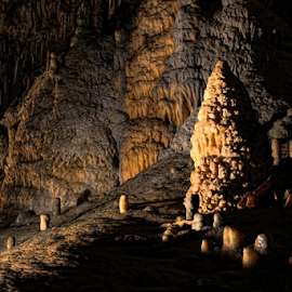Caves by Dominic Jacob - Landscapes Caves & Formations ( han, belgique, caves, belgium, cave )