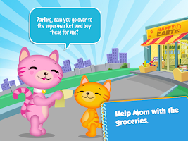 Screenshot of Lil' Kitten Shopping Cart