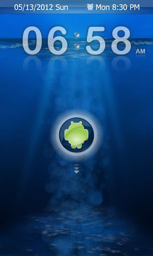 AndroDive Lite GO Locker Theme