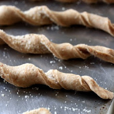 Black Pepper and Parmesan Twist