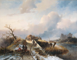 RIJKS: Charles Rochussen, Johannes Franciscus Hoppenbrouwers: painting 1845