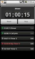 Screenshot of x Timer