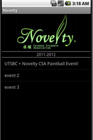 Novelty CSA